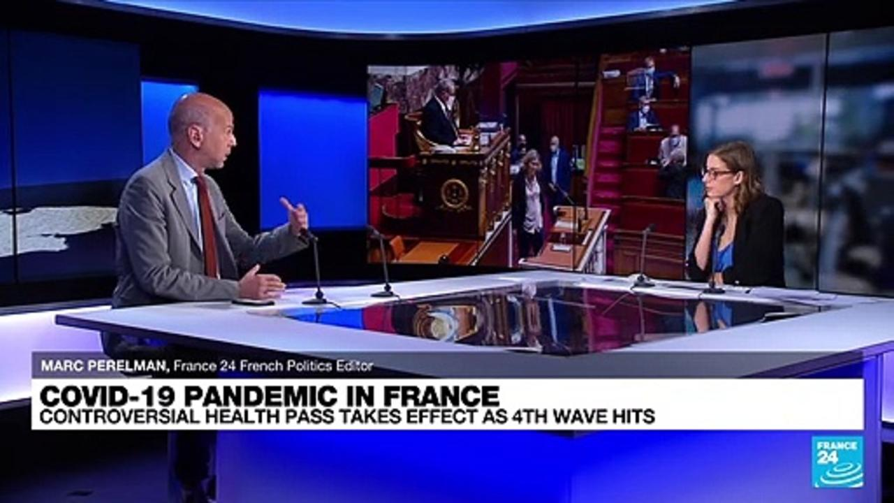 France: Controversial health pass takes effect as fourth wave hits