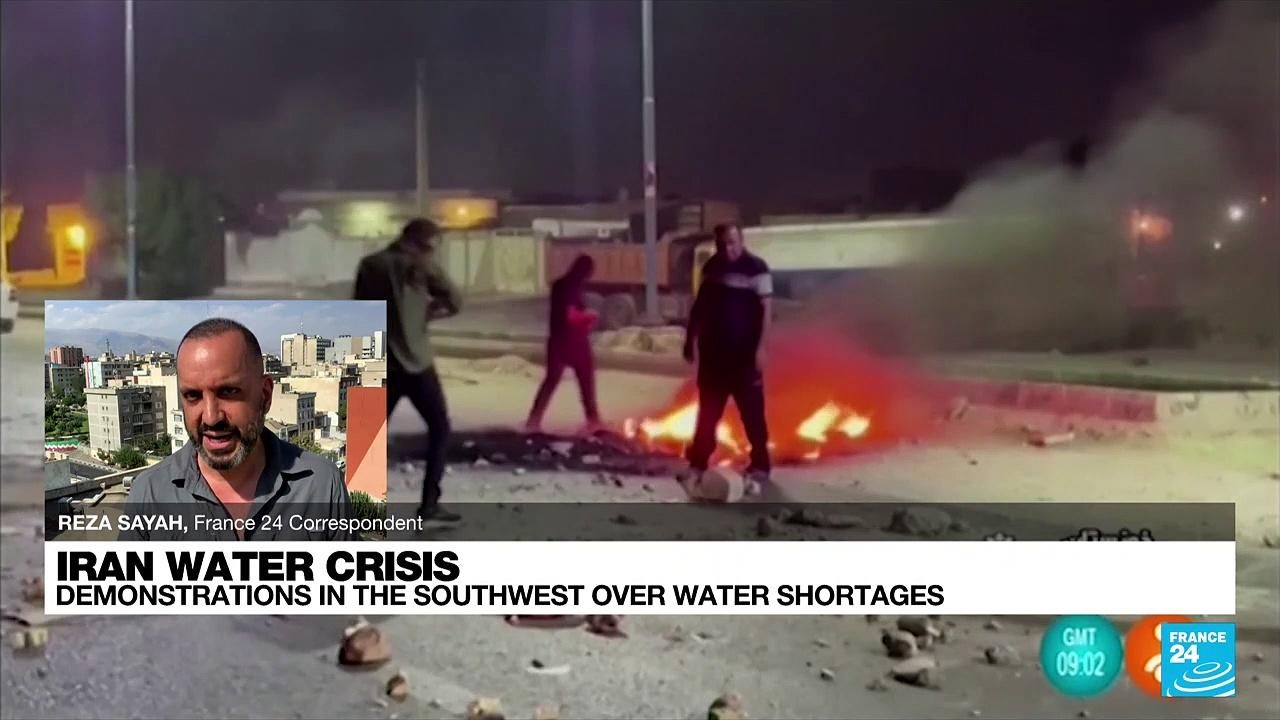 At least three killed in Iran province hit by water protests