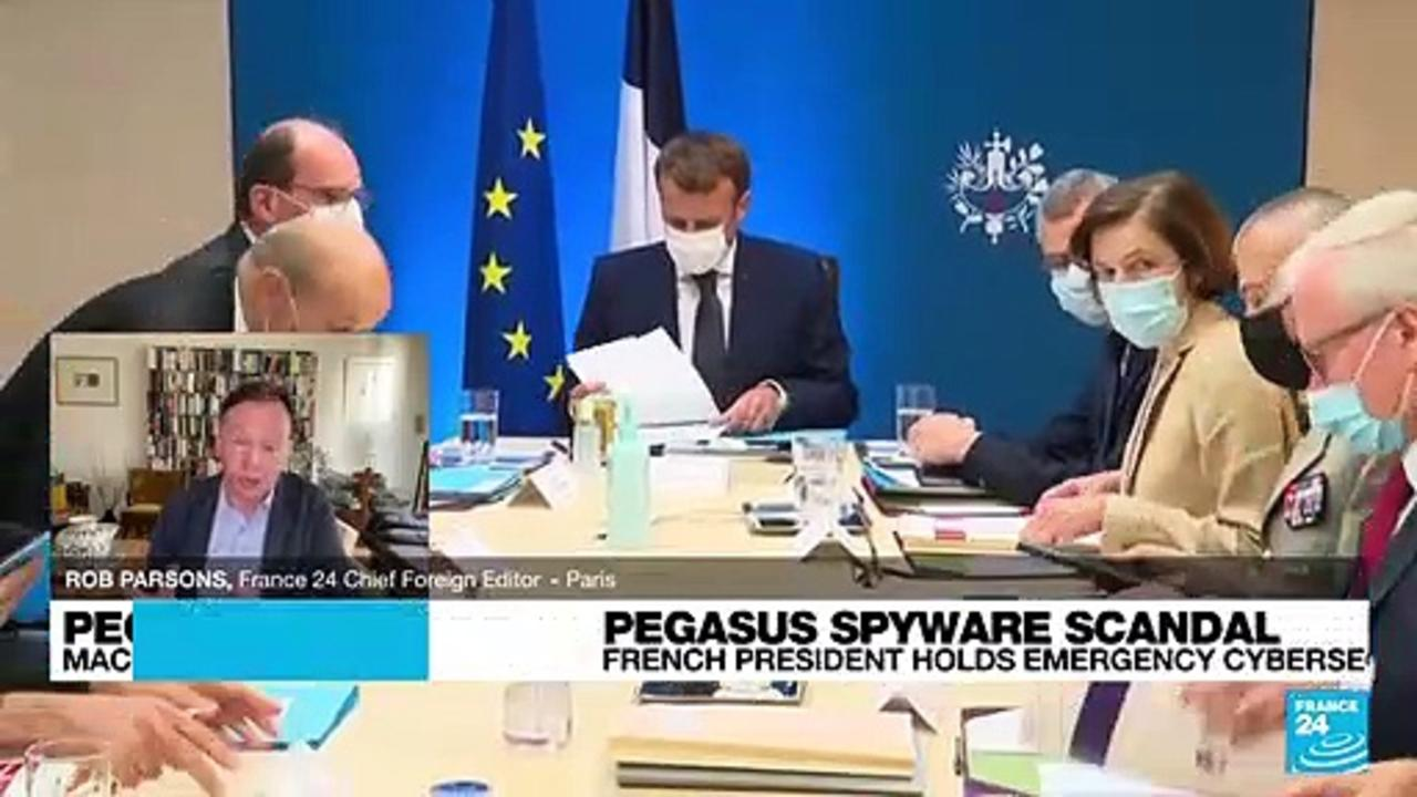 Pegasus project: 'The level of concerns in France is very high'