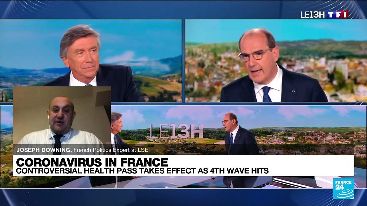Covid-19: France launches controversial vaccine pass as fourth wave hits