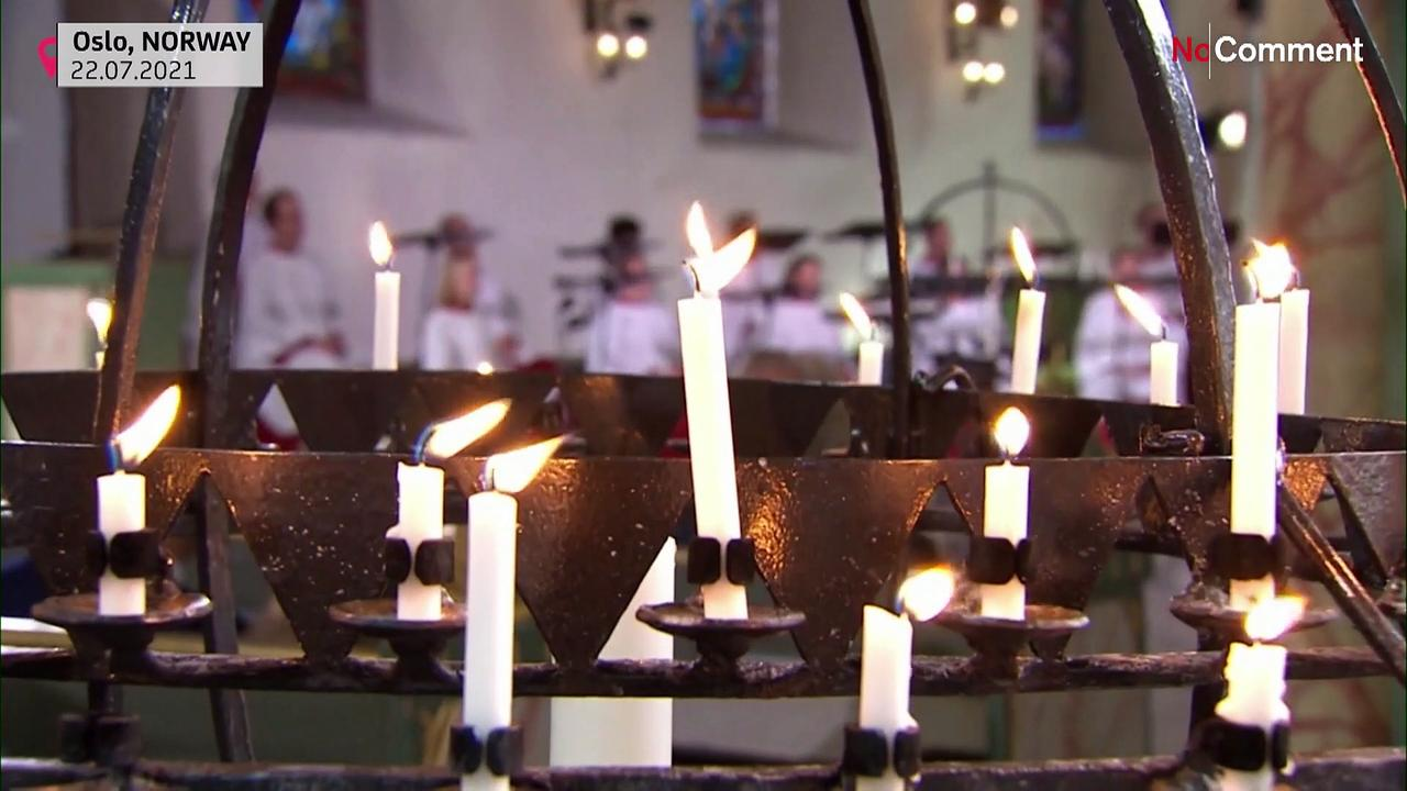 Norway cathedral service marks attack anniversary