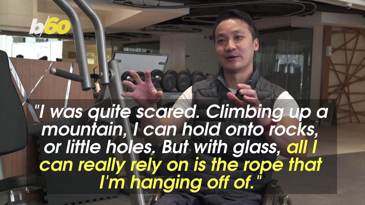 Ever Wonder How a Paraplegic Climber Scaled a Skyscraper in a Wheelchair?