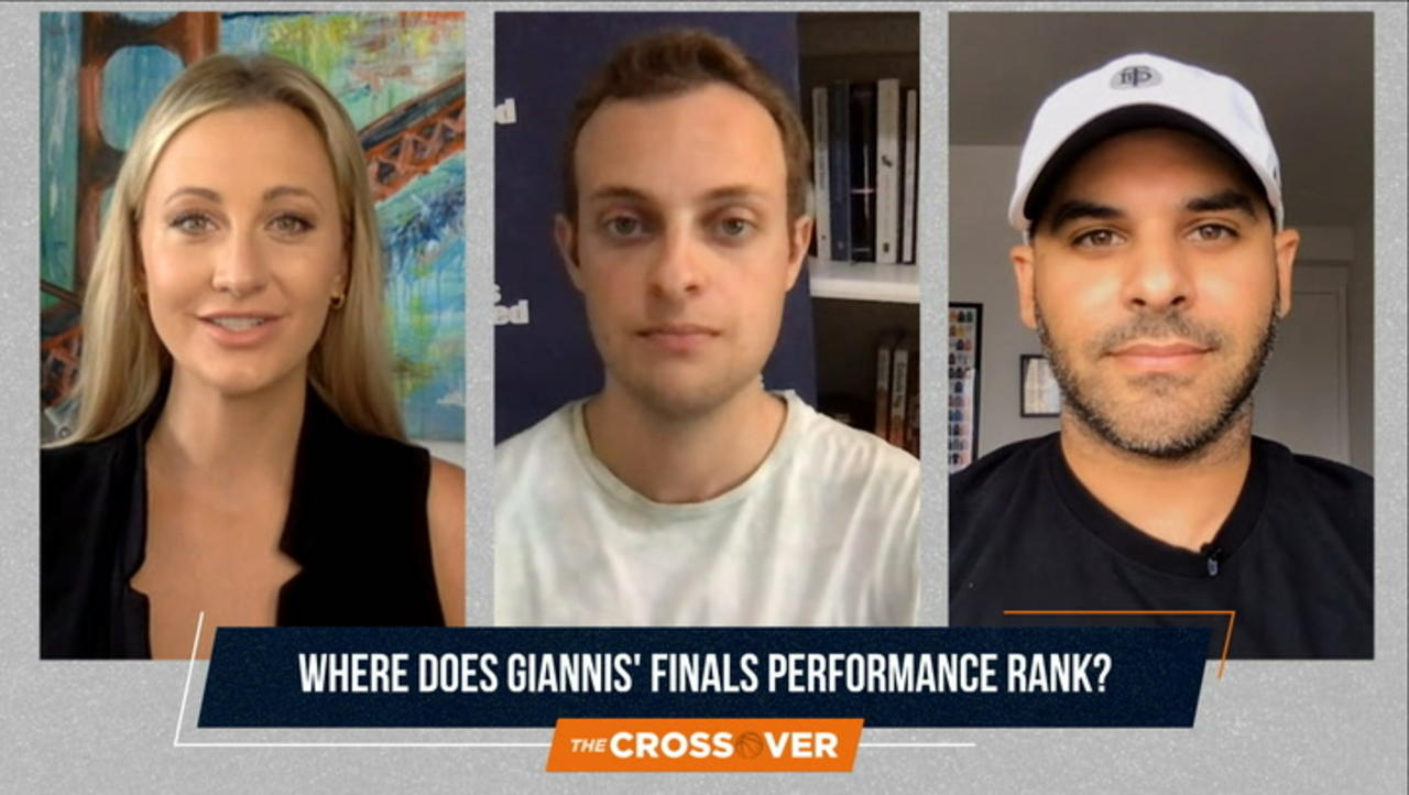 The Crossover: Where Does Giannis' Finals Performance Rank?