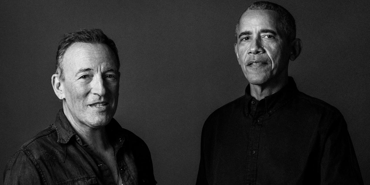 Barack Obama and Bruce Springsteen Are Publishing a Book