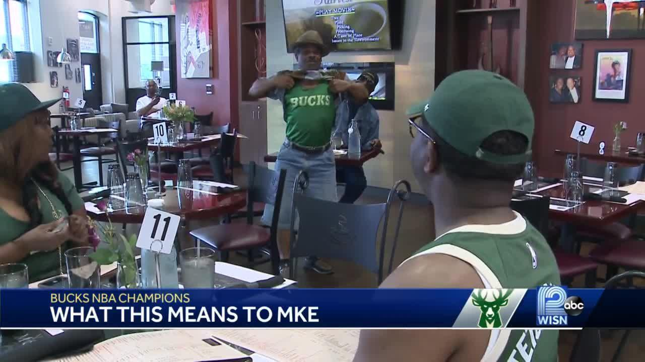 Bucks fans hope championship brings unity to city