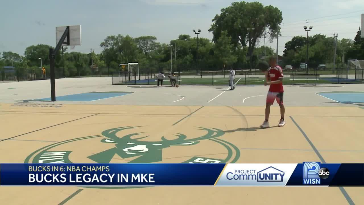 Bucks helped pave way for kids to shoot, score