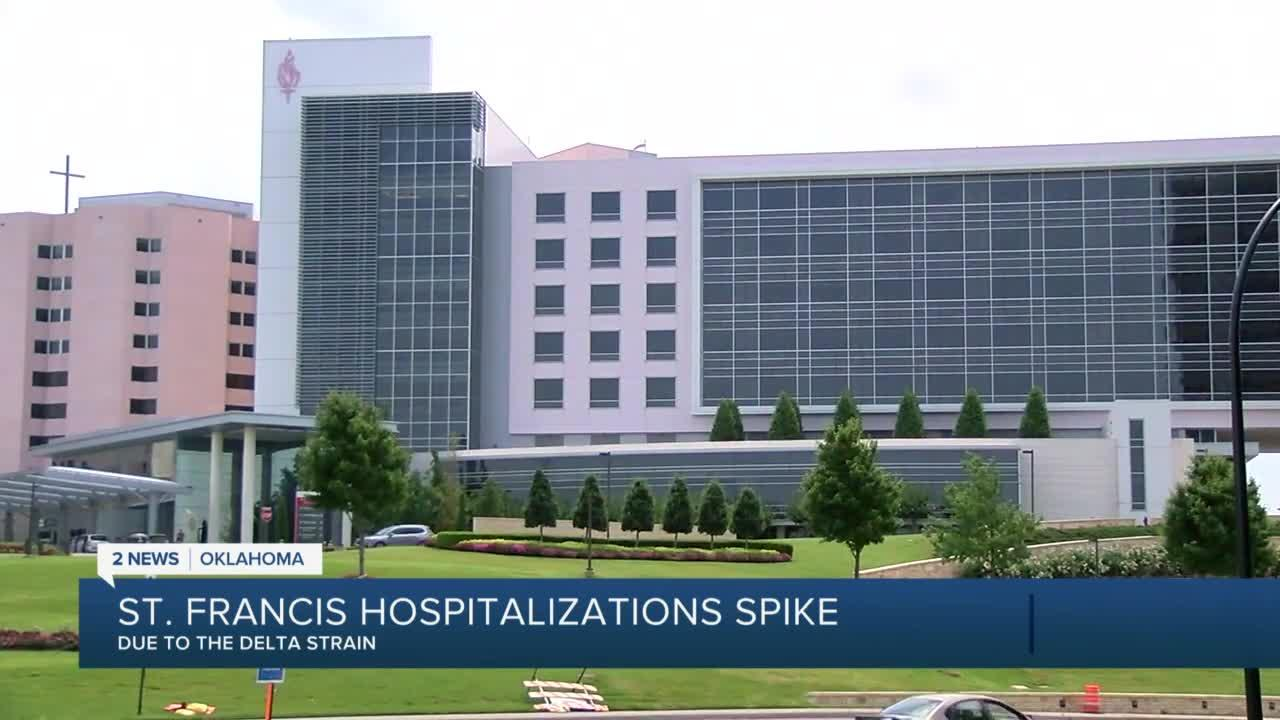 St. Francis Hospital sees spike in hospitalizations among unvaccinated individuals