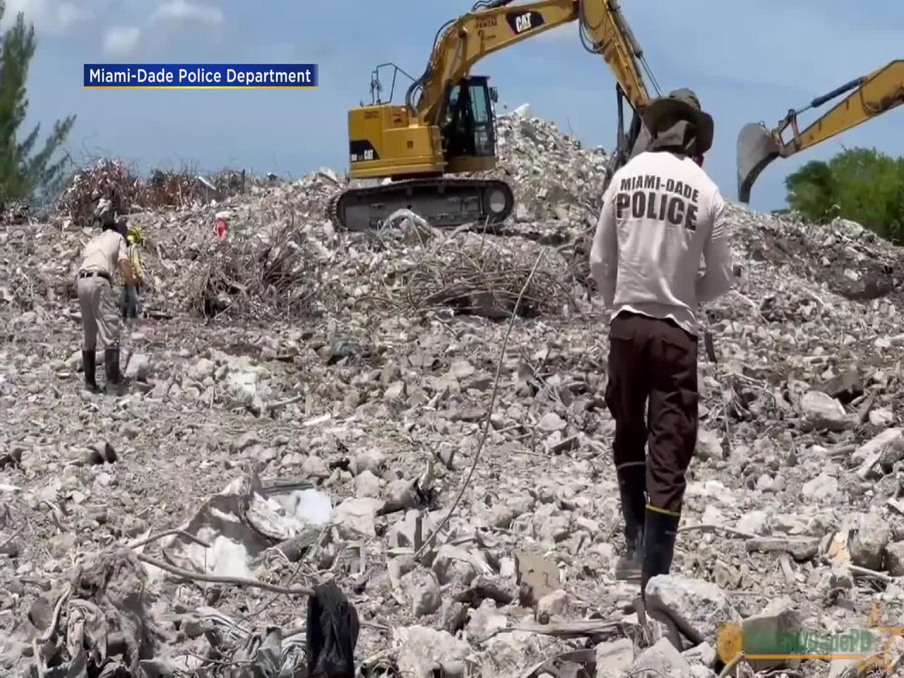 WEB EXTRA: MDPD Release Video Montage On Surfside Recovery Efforts