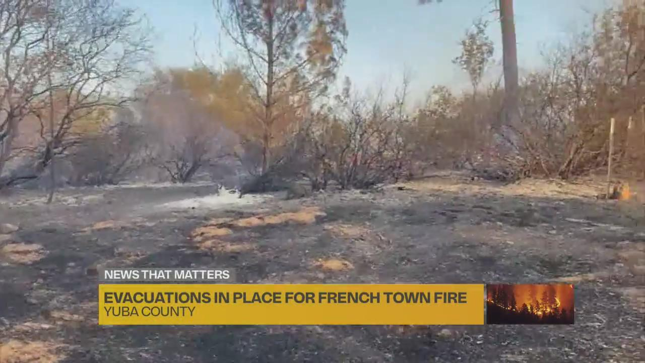 French Town fire