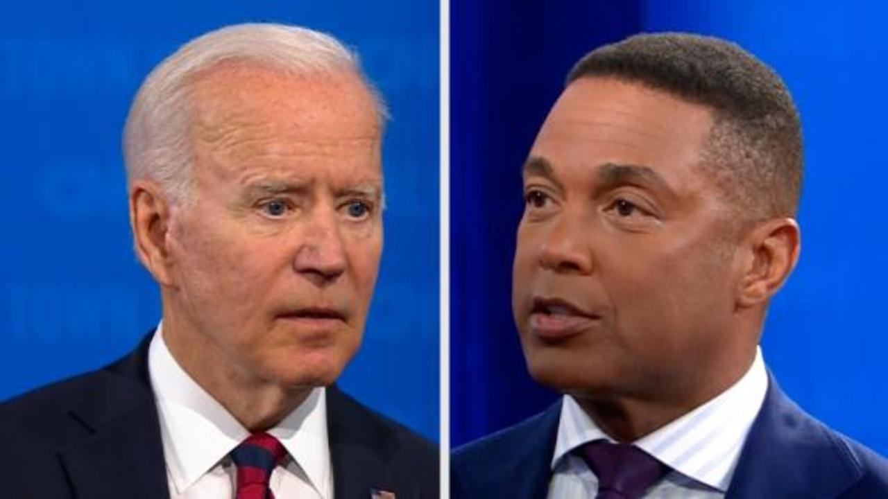 CNN's Don Lemon presses Joe Biden on his answer on the filibuster