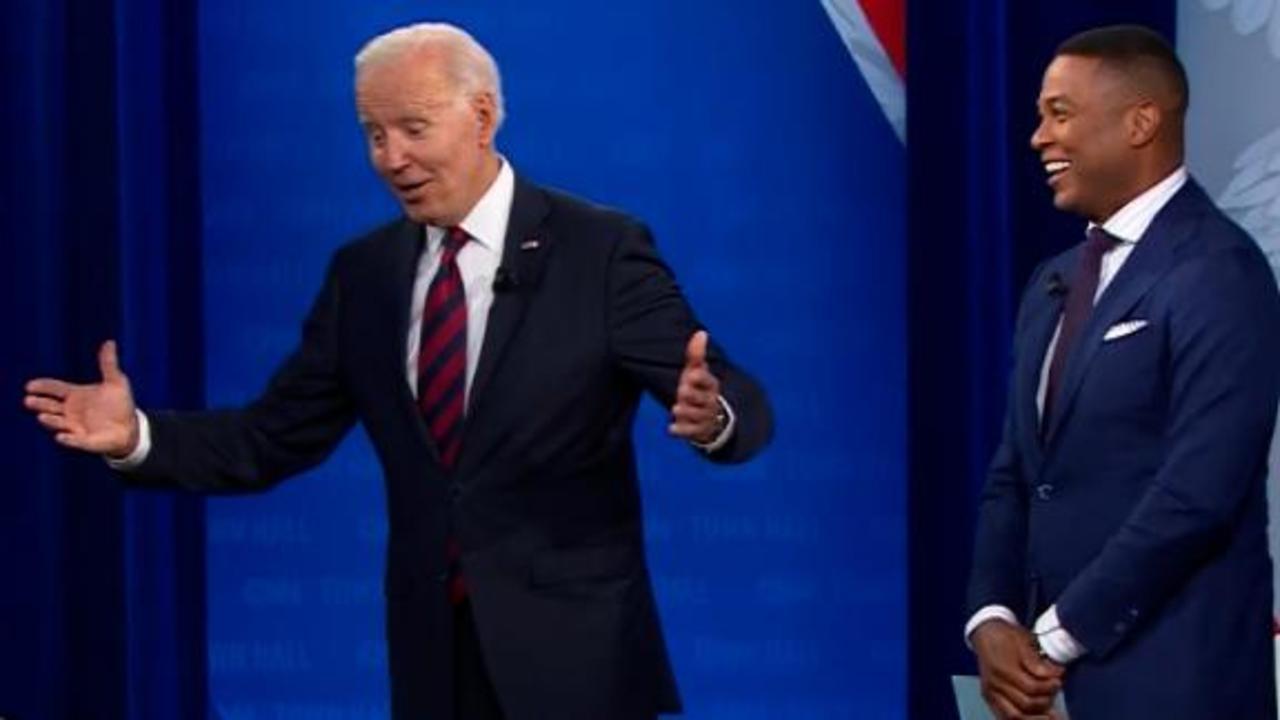 Don Lemon cracks up at Joe Biden's 'Hail to the Chief' story