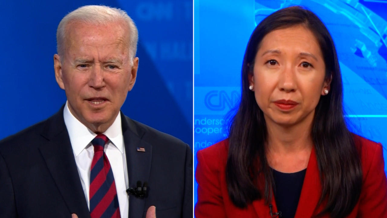 'I was disappointed': Dr. Wen reacts to Biden's answer on Covid-19 vaccine