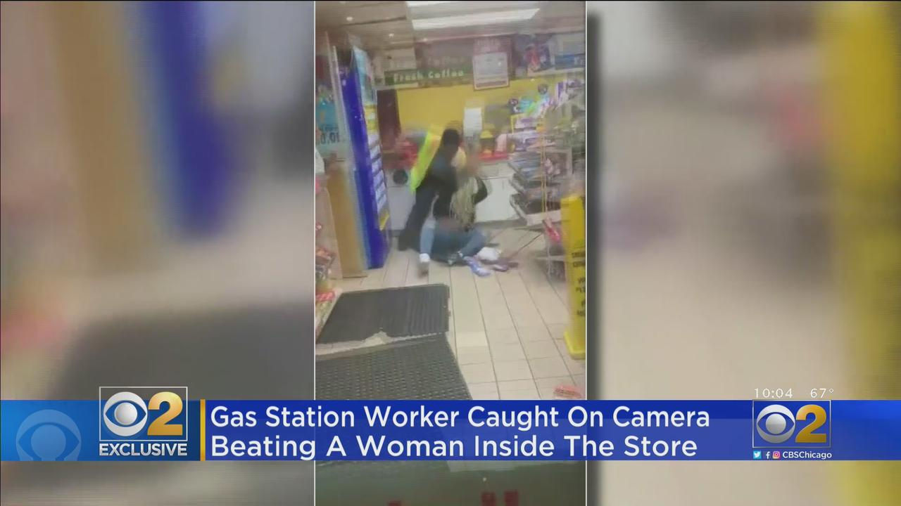 Video Shows Dolton Gas Station Worker Beating Woman Who Says She Just Wanted To Use Bathroom