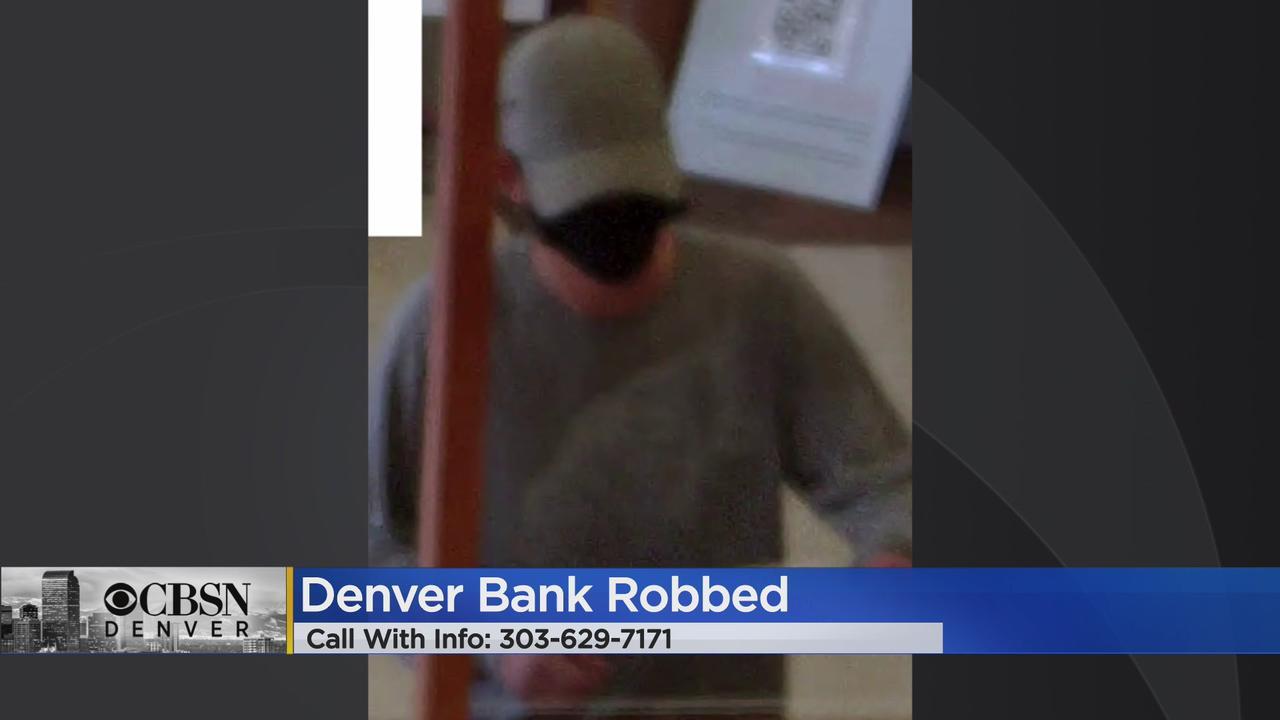 FBI Asks For Help Identifying Denver Bank Robbery Suspect