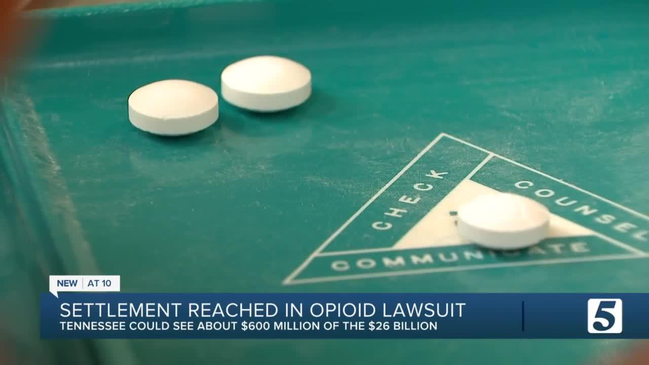 Drug companies, J&J reach $26B deal with states, including Tennessee, to end opioid lawsuits