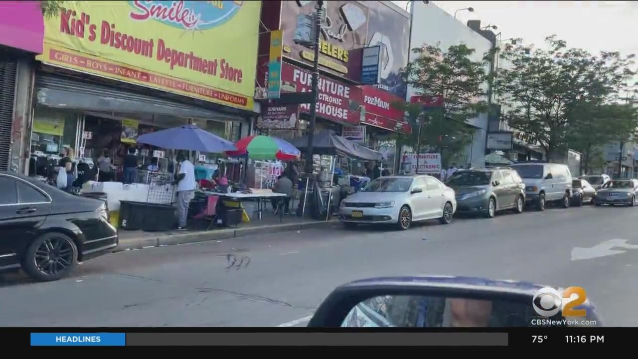 Bronx Businesses Frustrated By Unlicensed Vendors Taking Over Sidewalks