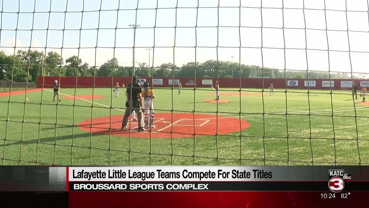 Little League teams compete for spot in state championship