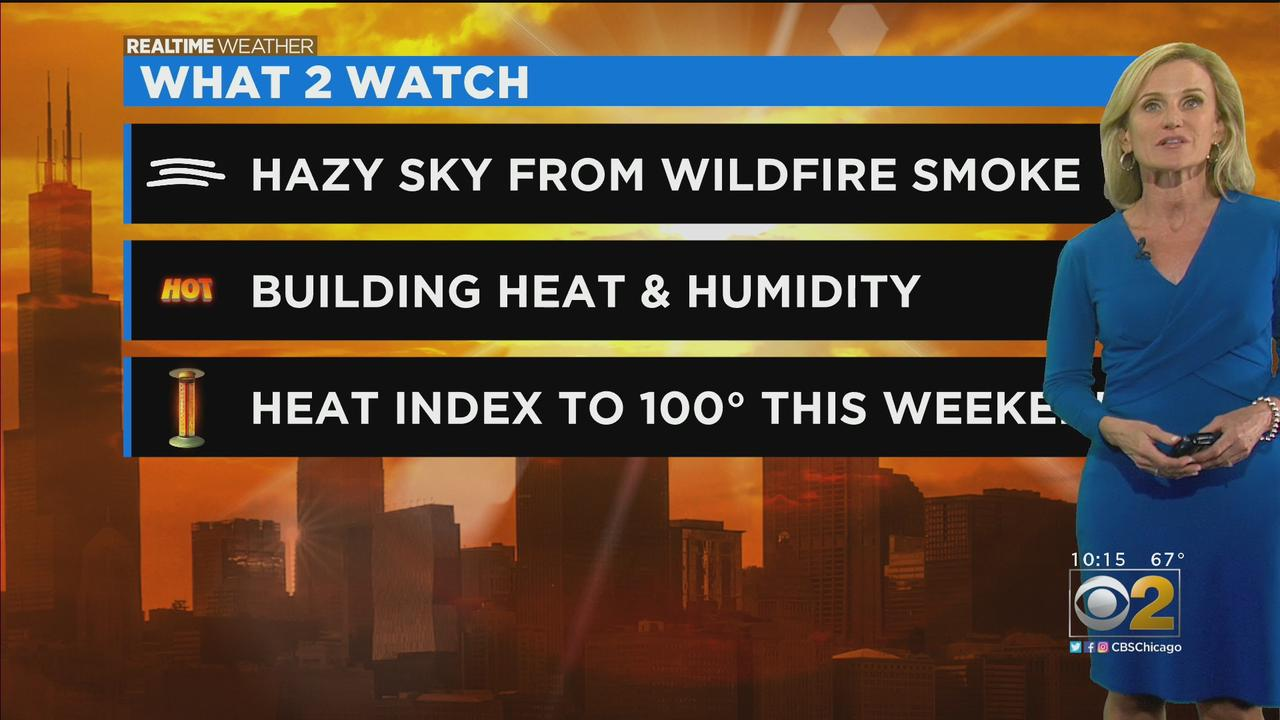 Chicago Weather: Building Heat And Humidity