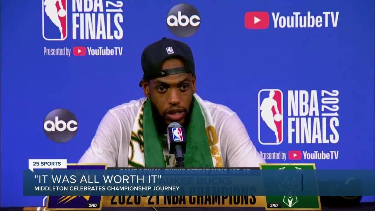 Former Aggie celebrates NBA Title