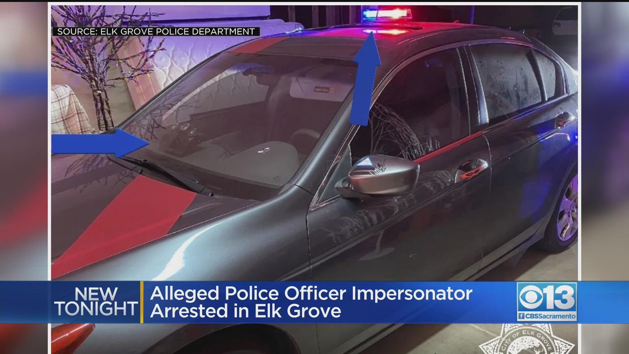 Alleged Police Officer Impersonator Arrested In Elk Grove