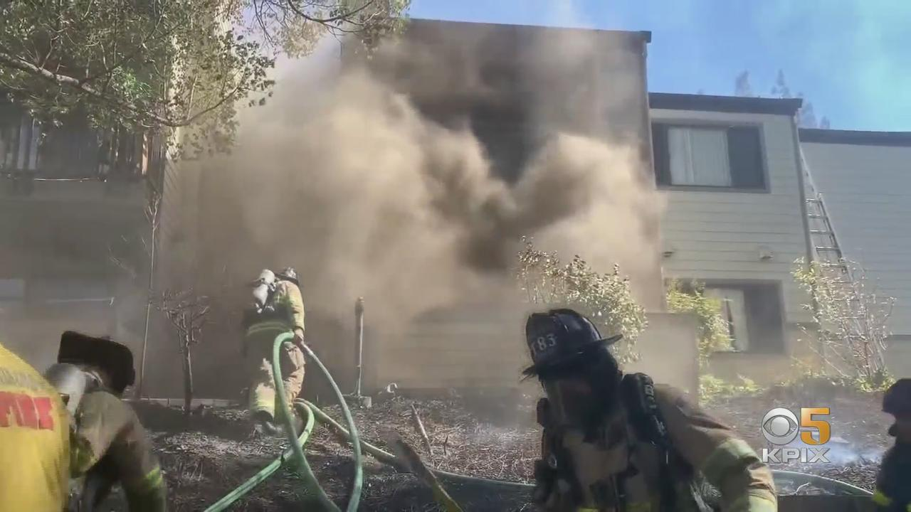 Families Forced Out After Antioch Vegetation Fire Spreads To Apartments