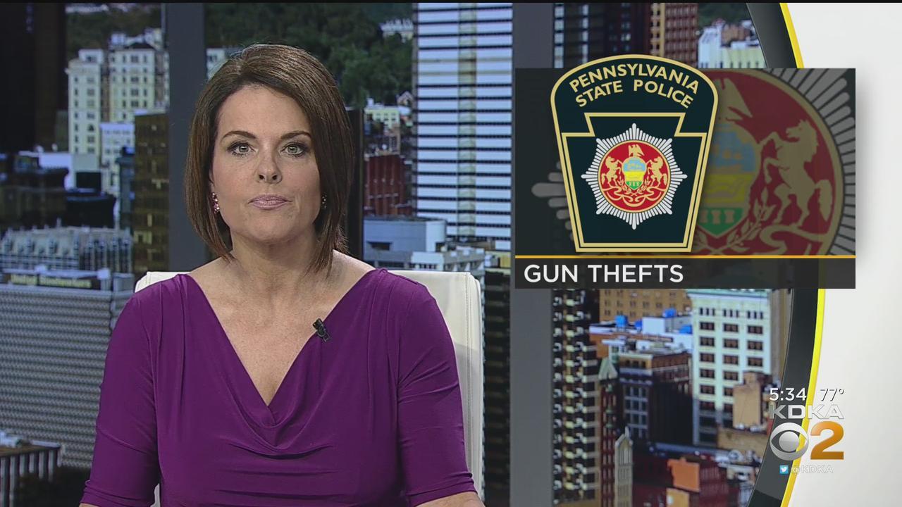 State Police Investigate Stolen Guns