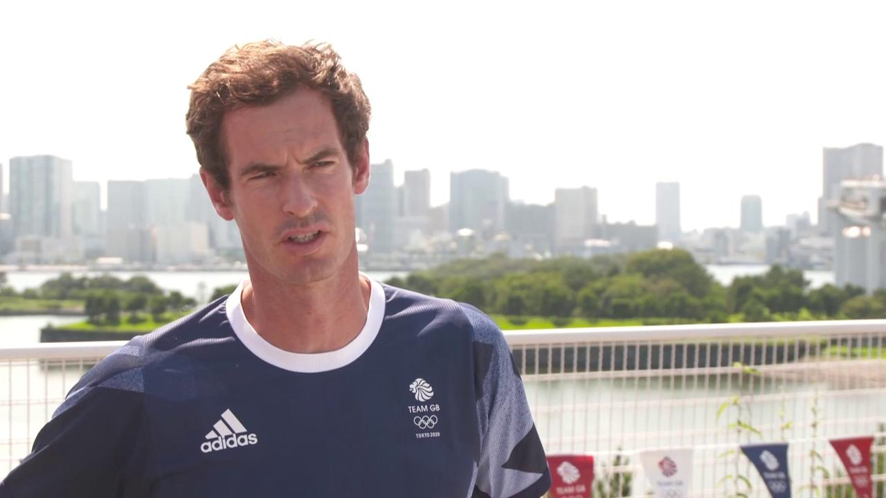 How Murray prepared for Tokyo heat
