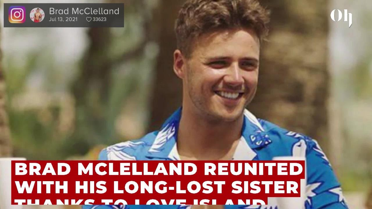 Brad McLelland reunited with long-lost sister after Love Island appearance