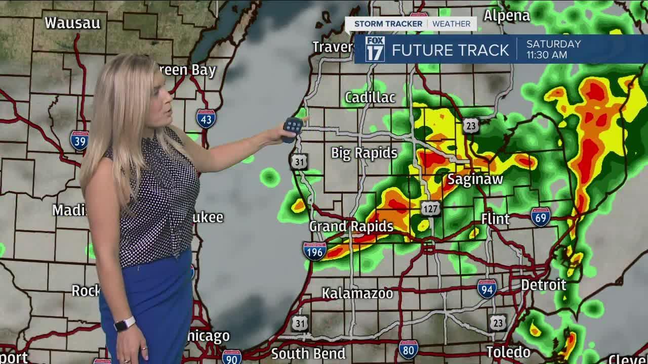 Thursday Morning Forecast 7.22.21