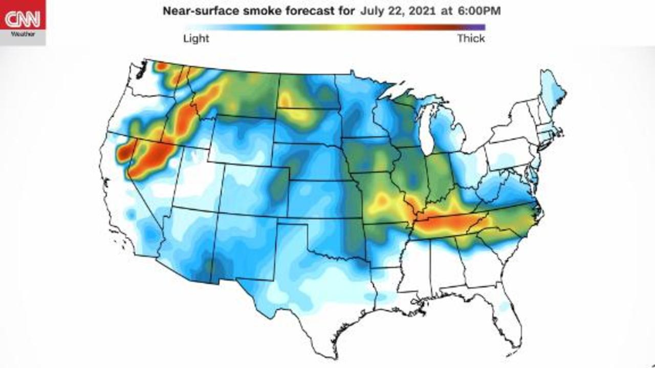 Western fires continue amid potential tropical mischief along SE Atlantic coast