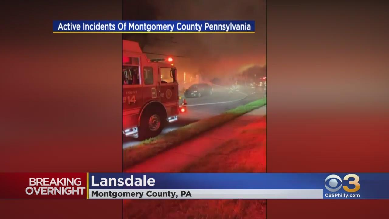 Flames Break Out At Wimberly Spanish Food Pizza And Pasta In Lansdale