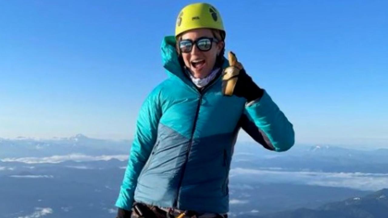 Mandy Moore: Bergsteigen mit Milchpumpe