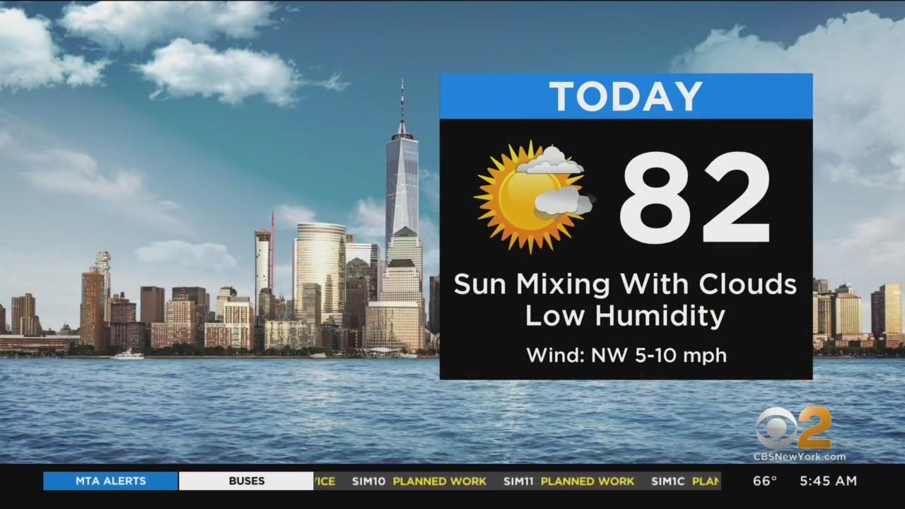 New York Weather: Thursday Treat