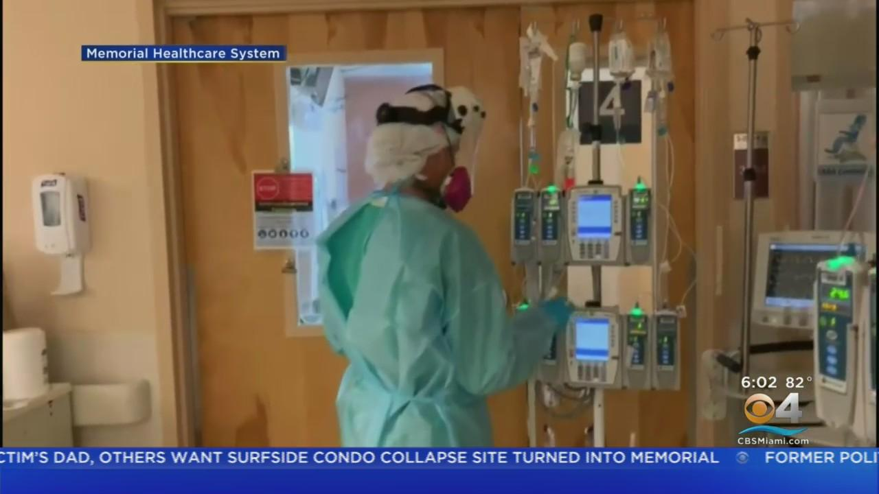 COVID Surge In South Florida, Nurses Stress Vaccinations
