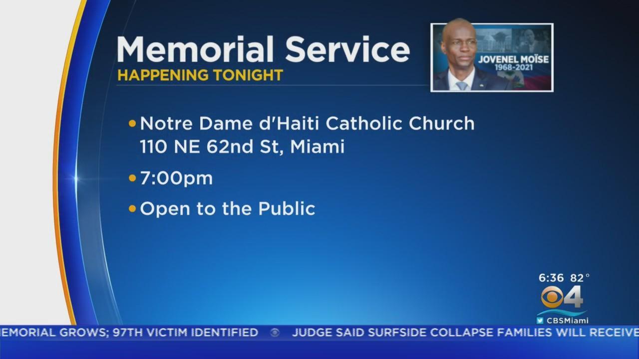 Miami Memorial Service For Late Haitian President Jovenel Moïse