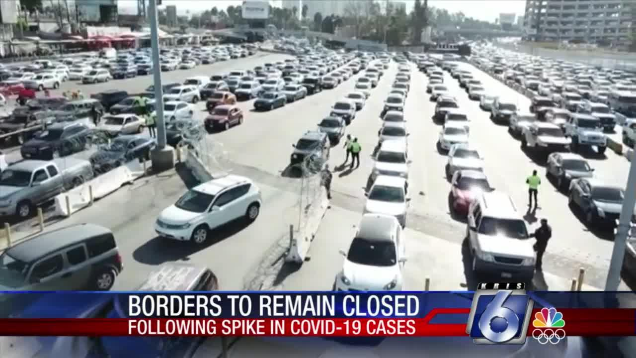 Borders to Remain Closed