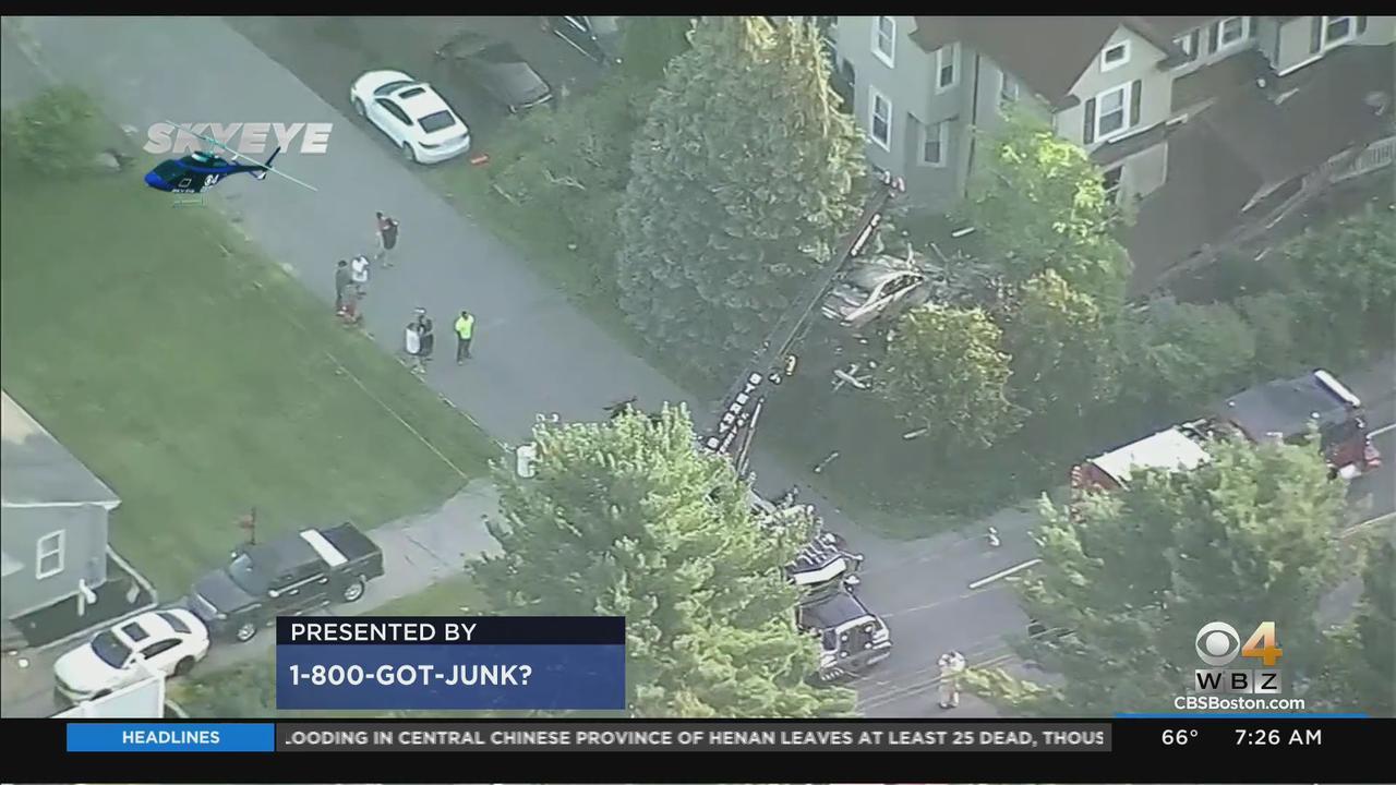 Car Slams Into Attleboro House