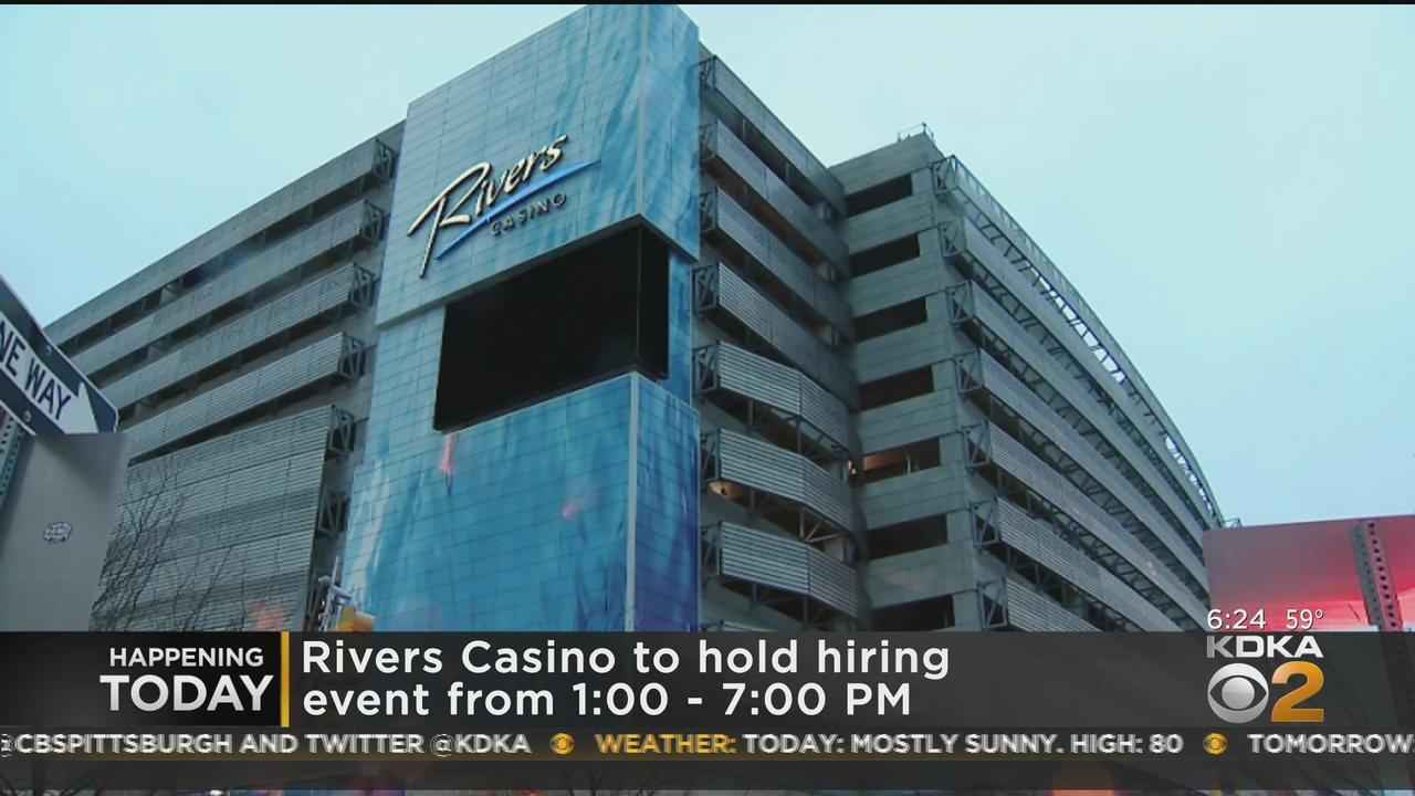 Rivers Casino Hosting Hiring Event