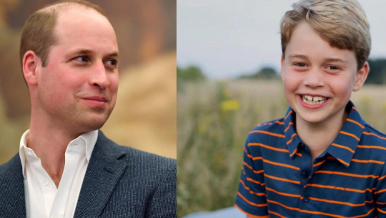 Like Father, Like Son but Not Without Mom's Help, In Prince George's Birthday Image