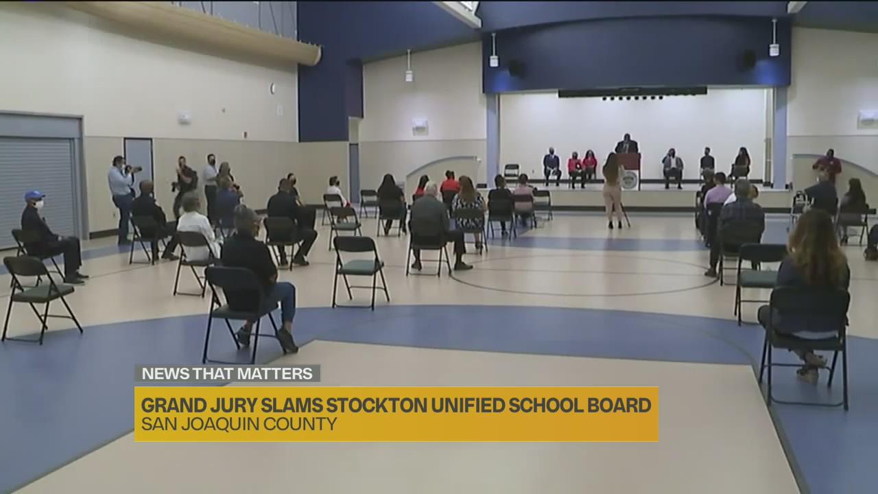 'Watching your parents fighting in public': Grand jury slams Stockton Unified School District board