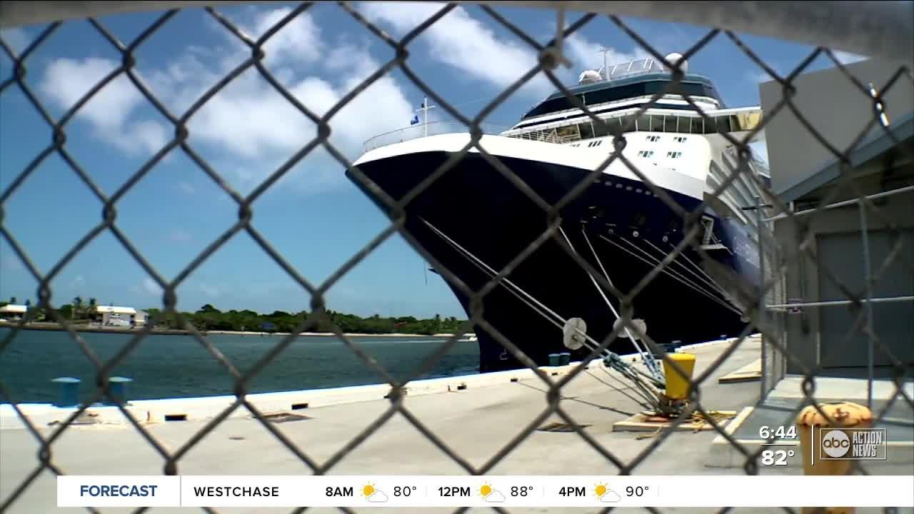 Port workers eagerly await cruising to resume in Florida