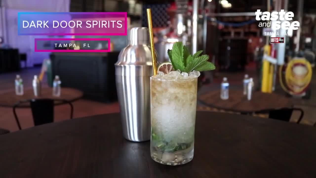 Mix cocktail and bottle your own booze at Dark Door Spirits | Taste and See Tampa Bays