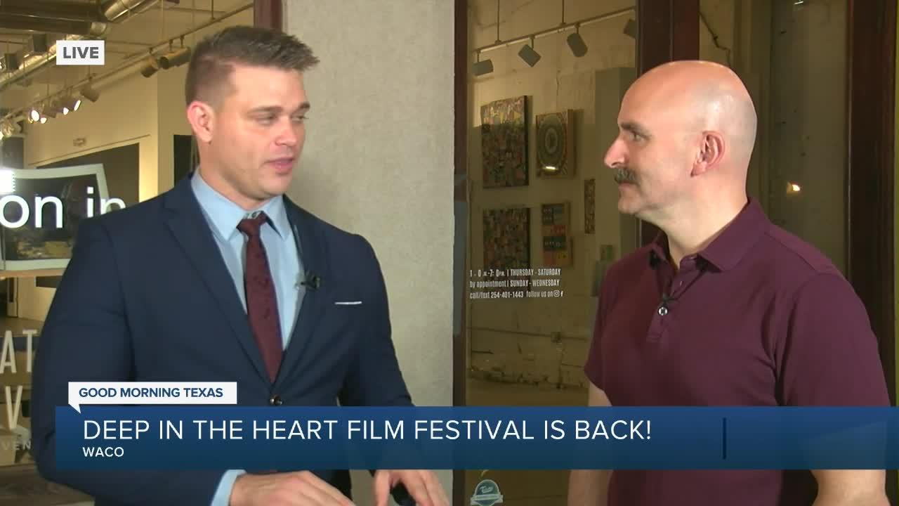Live interview with Co-Director/Co-Founder of Deep in the Heart Film Festival, Samuel Thomas