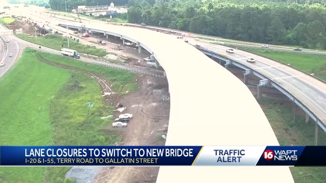 MDOT Will Switch Traffic to New I-20 Bridge
