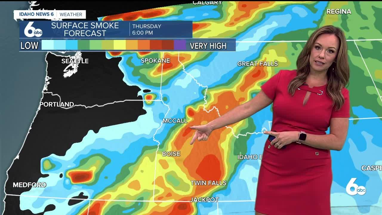 Rachel Garceau's Idaho News 6 forecast 7/22/21