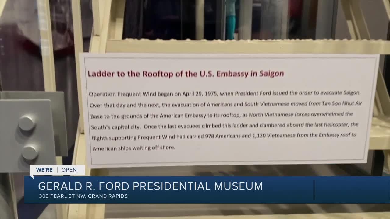 We're Open: Gerald R Ford Museum stayed busy during pandemic