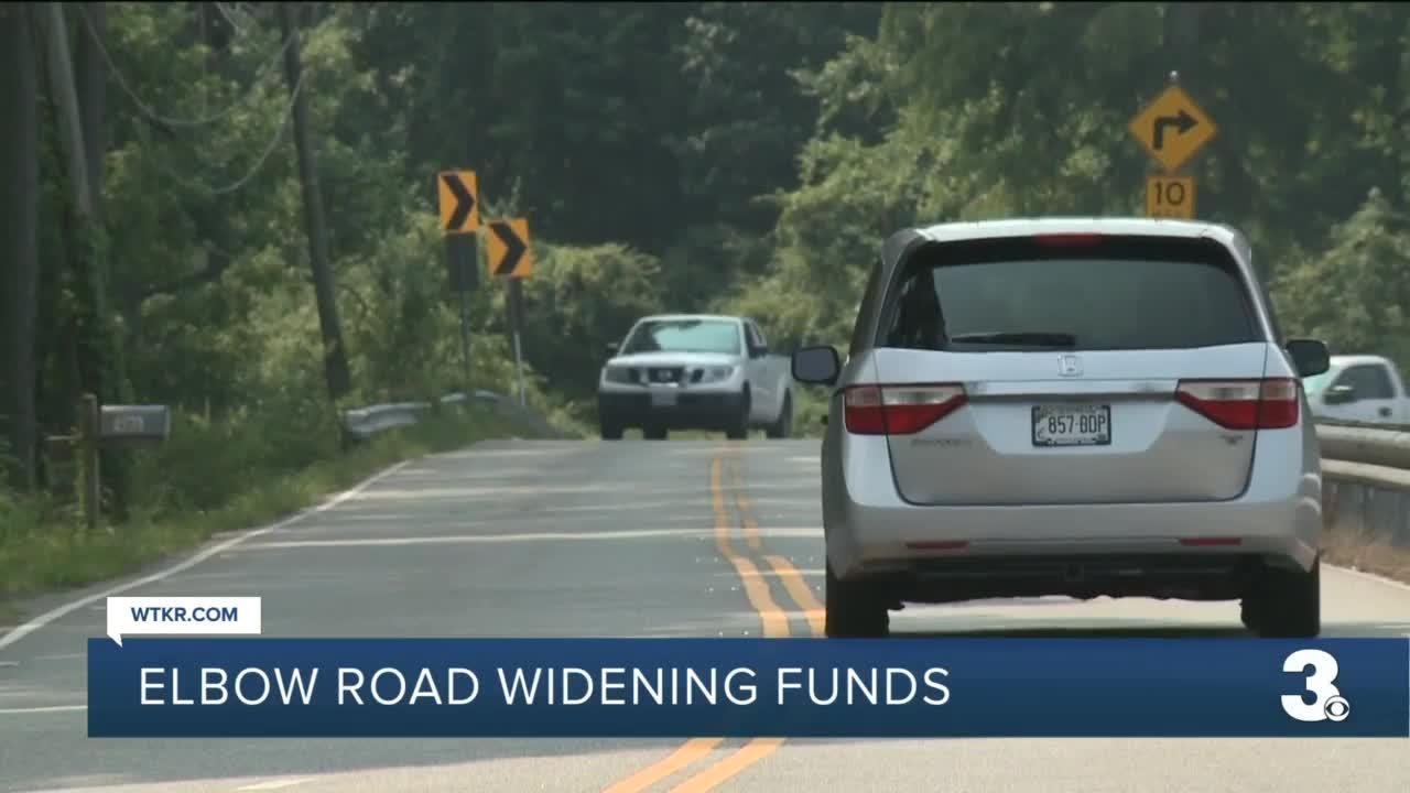 Elbow Road widening funds