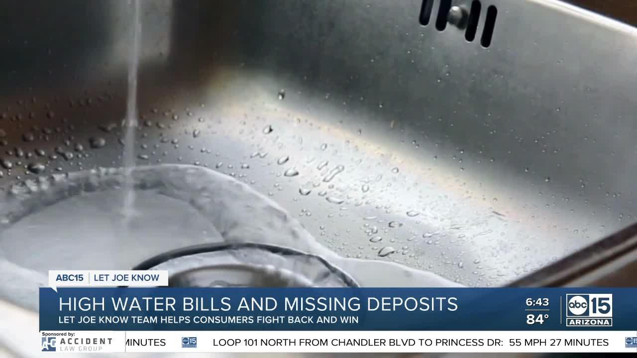 Consumers fight back and win against high water bills and deposit refunds
