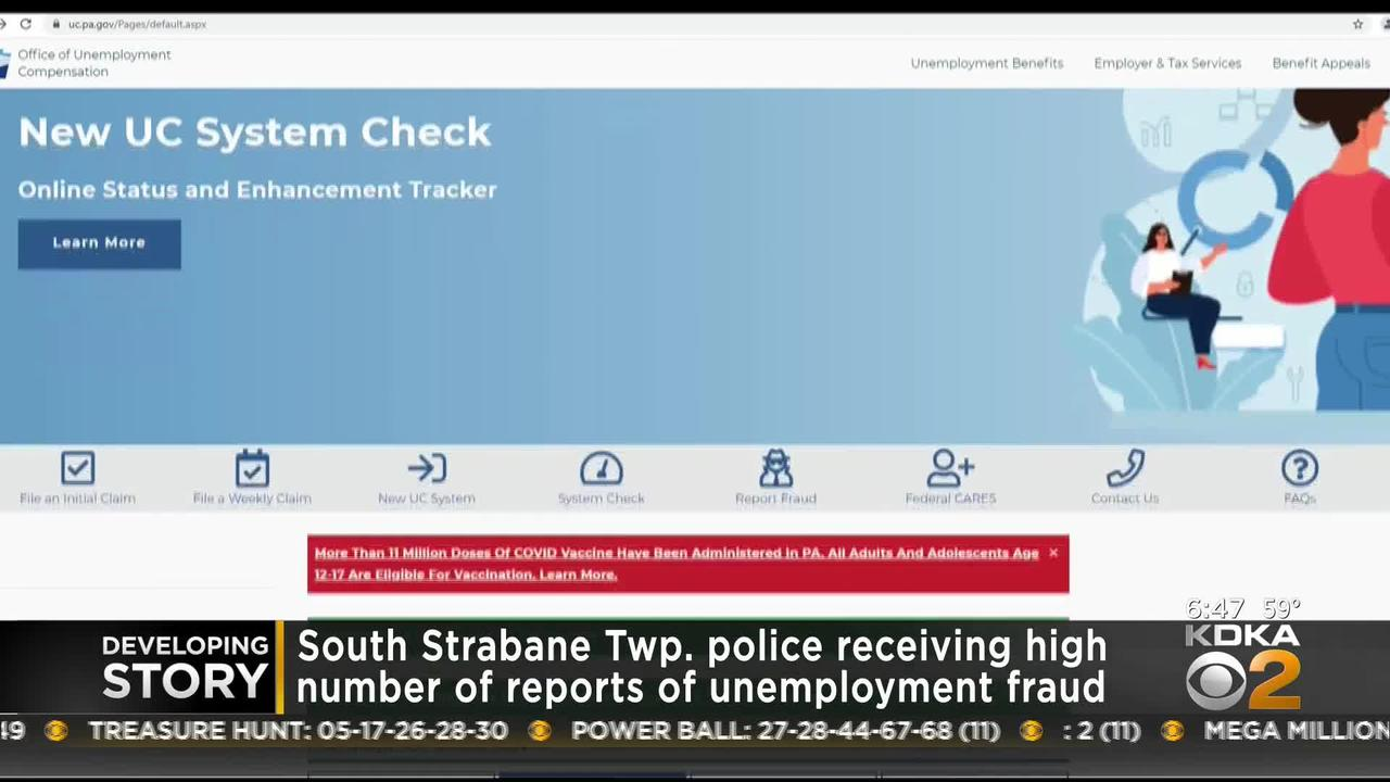 South Strabane Police Receiving High Number of UI Fraud Reports