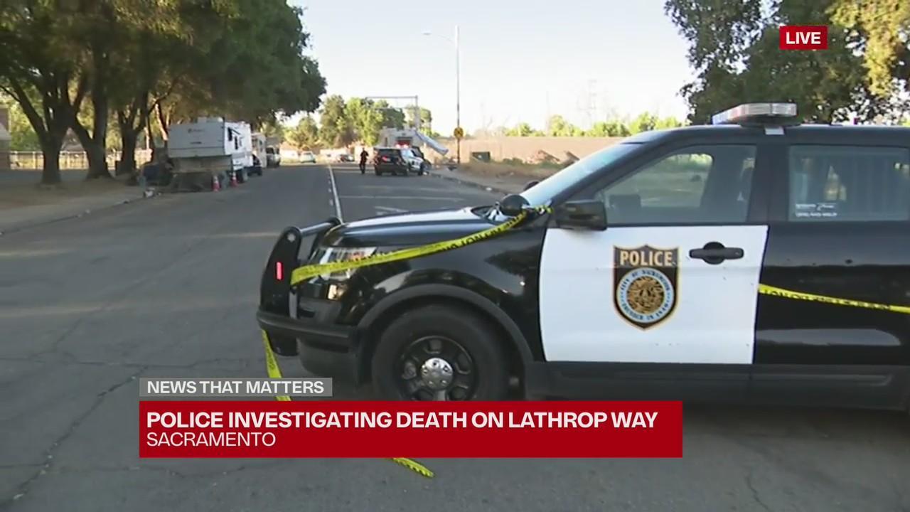 Sacramento police investigating death on Lathrop Way